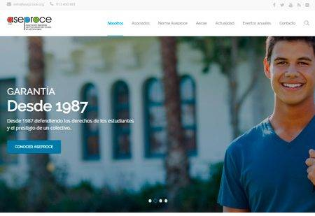Aseproce unveils new website